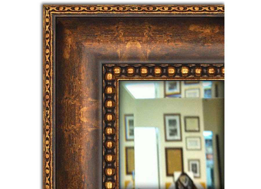 Bath vanity mirrors framed2