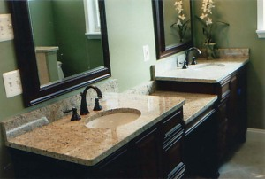Bathroom coutertops and sinks