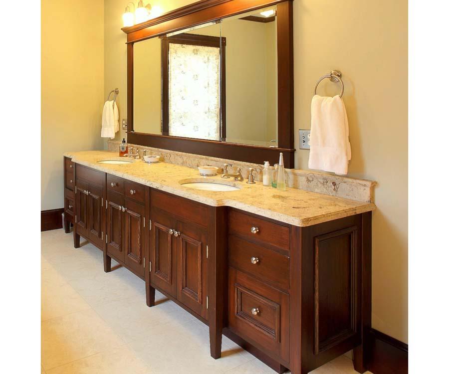 Bathroom double vanity design ideas