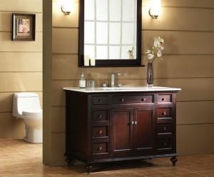 Bathroom furniture vanity sink