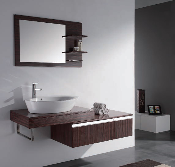 Bathroom vanities and sinks for small spaces
