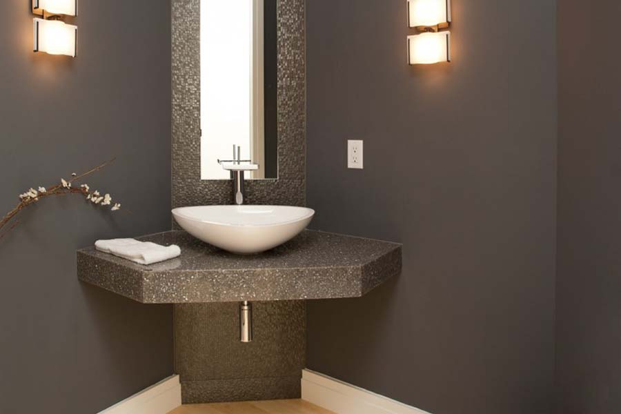 Bathroom vanities small powder room