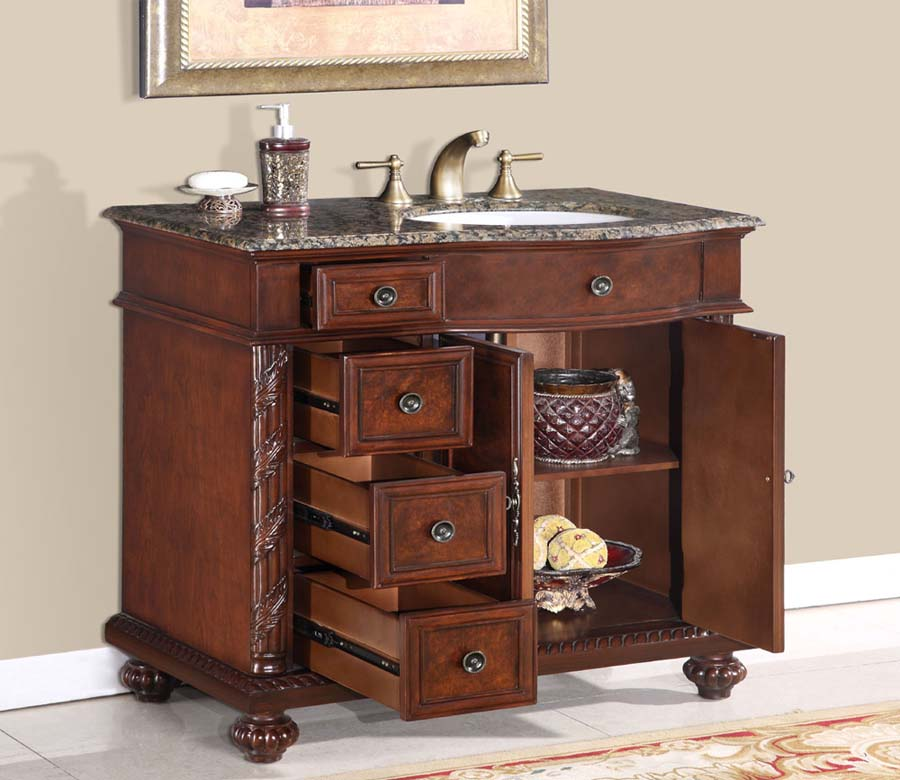Bathroom vanities with sinks included