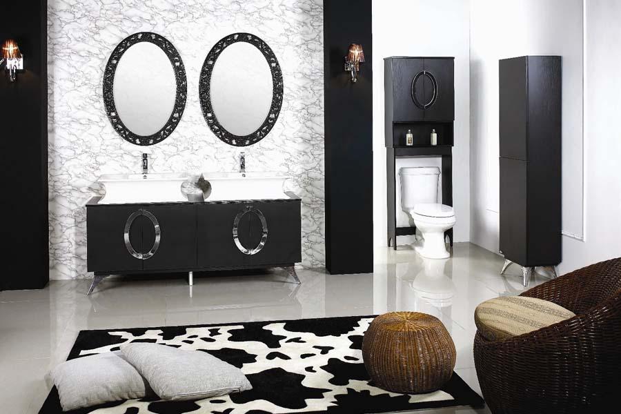 Bathroom vanity combo sets