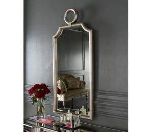 Bathroom vanity mirrors brushed nickel