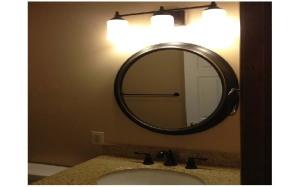 Bathroom vanity mirrors oil rubbed bronze