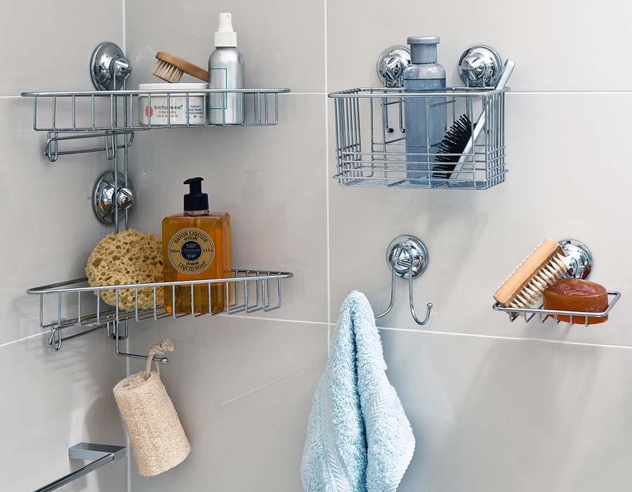 Bathroom vanity storage ideas