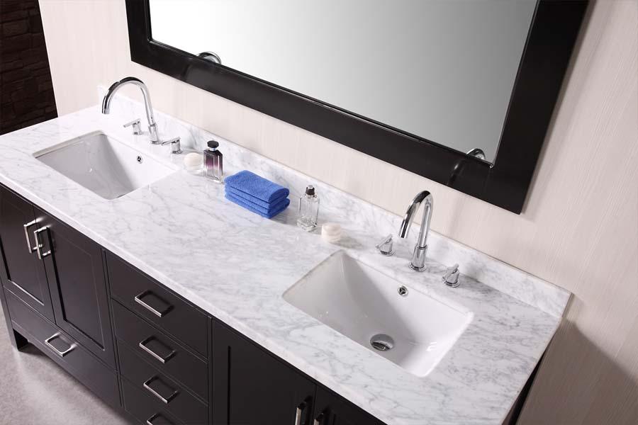 Bathroom vanity tops with sinks