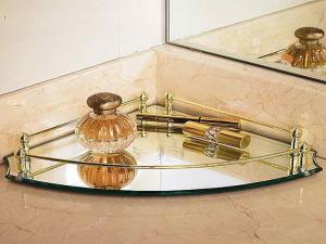 Bathroom vanity tray sets