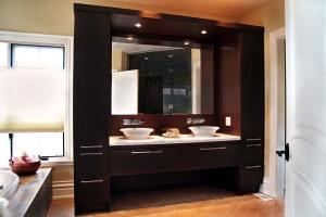 Contemporary bathroom cabinets vanities