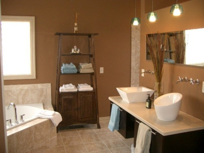 Contemporary bathroom lighting, bathroom, lightning