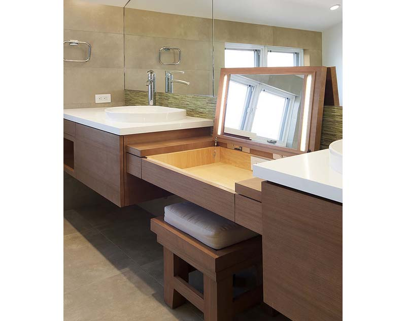 Contemporary european bathroom vanities