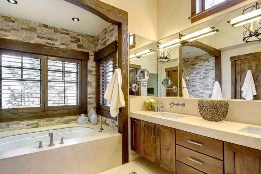 Country Bathroom Vanities Ideas