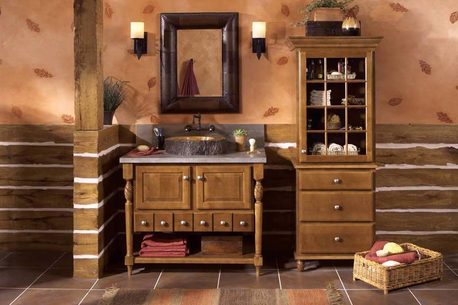 Country-Vanities-For-The-Bathroom