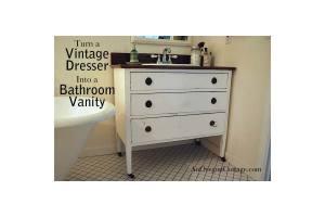 Diy-Bathroom-Vanity-From-Old-Dresser