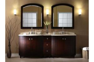 Double bathroom vanities lowes