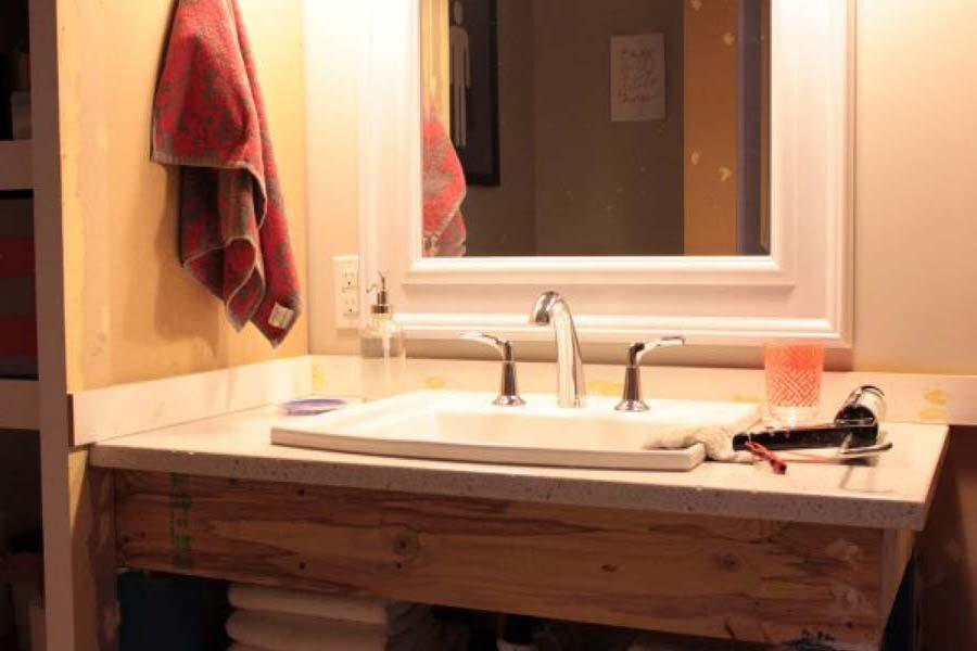 Easy Diy Bathroom Vanity