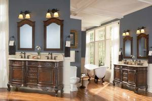 French-Country-Style-Bathroom-Vanities