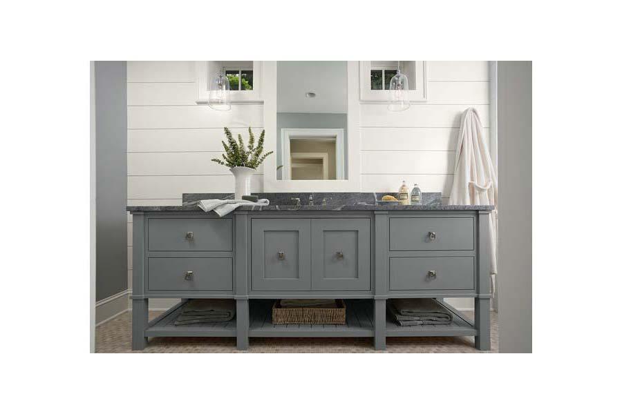 French Grey Bathroom Vanity