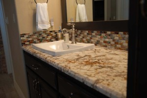 Granite countertops for bathroom vanity