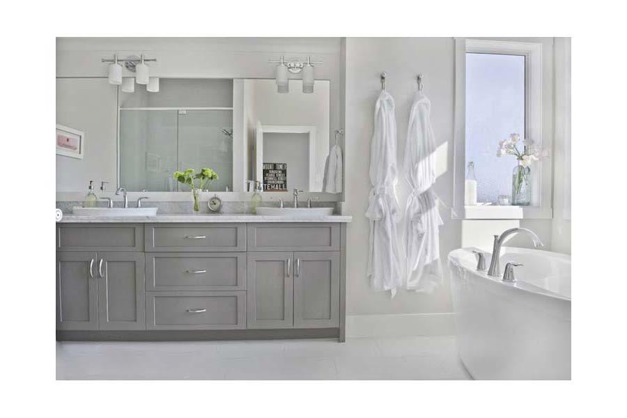 Grey-Bathroom-Vanity-Double-Sink