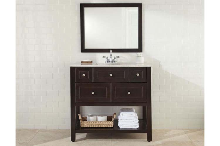 Home depot bathroom vanities 30