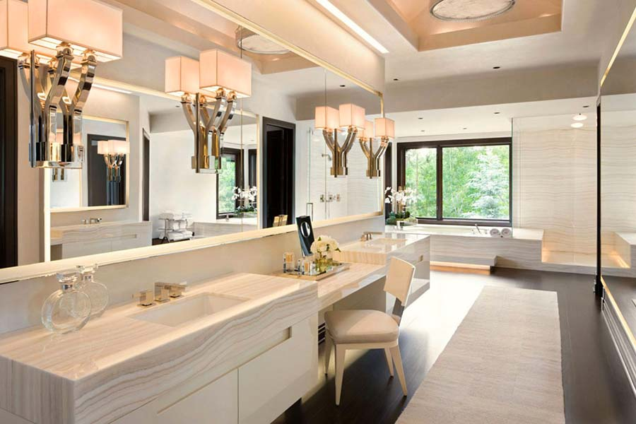 Luxury modern bathroom vanities