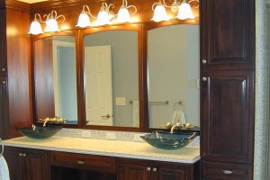 Master bathroom vanity mirrors