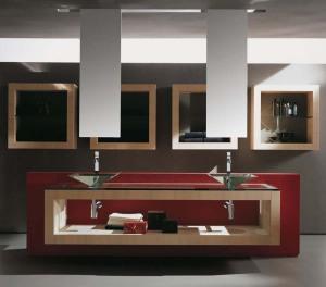 Modern Bathroom Vanity Cabinet Design