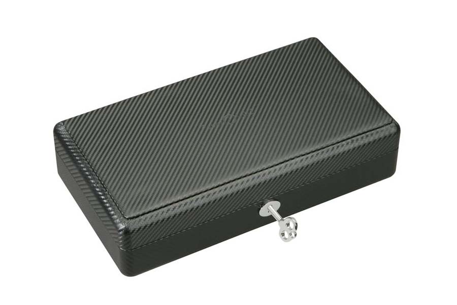 Personalized carbon fiber watch box