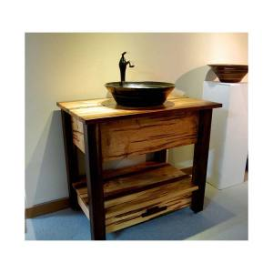 Rustic-Bathroom-Vanities-And-Sinks