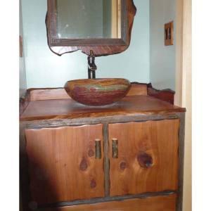 Rustic-Bathroom-Vanities-For-Vessel-Sinks