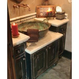 Rustic-Bathroom-Vanities-Vessel-Sinks