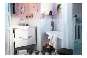 Small bathroom vanities IKEA