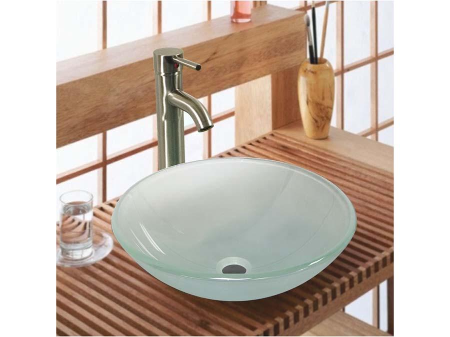 Teak bathroom vanity top