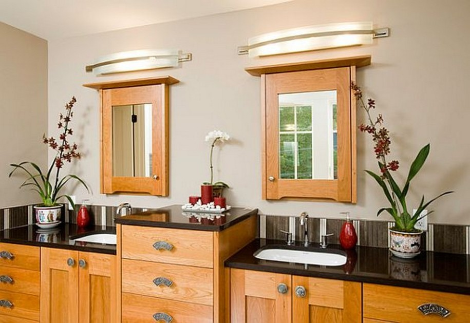 Traditional bathroom vanities and sinks