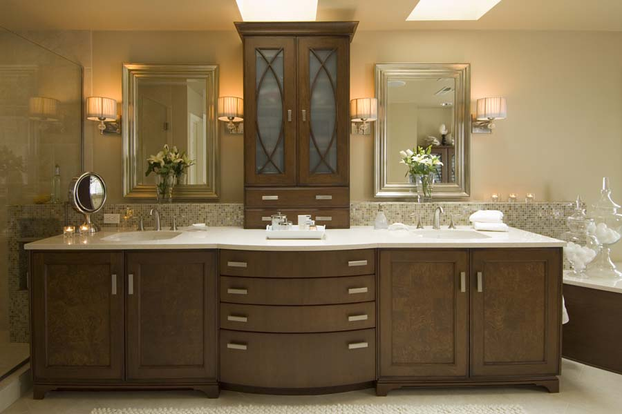 Traditional bathroom vanities cabinets