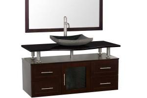 Wall mounted bathroom vanity sinks