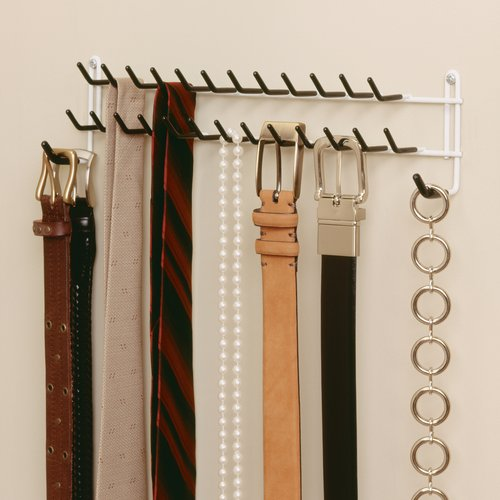belt and tie racks for closets