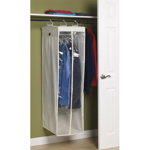 canvas closet garment bags