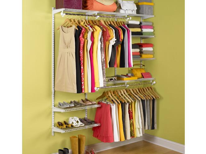 cheap closet organizer kits