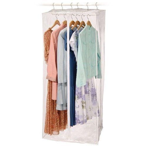 clear closet garment bags