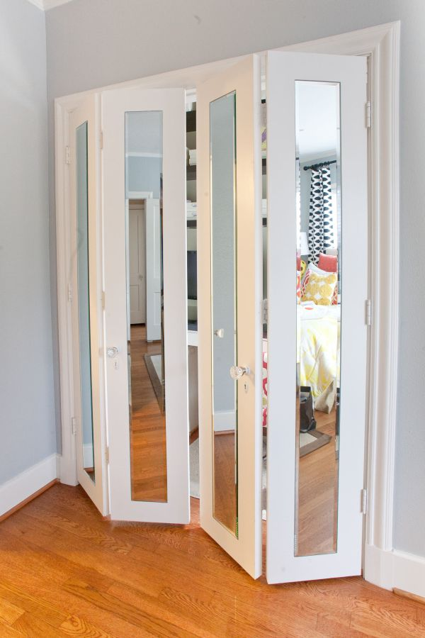 closet doors for small rooms