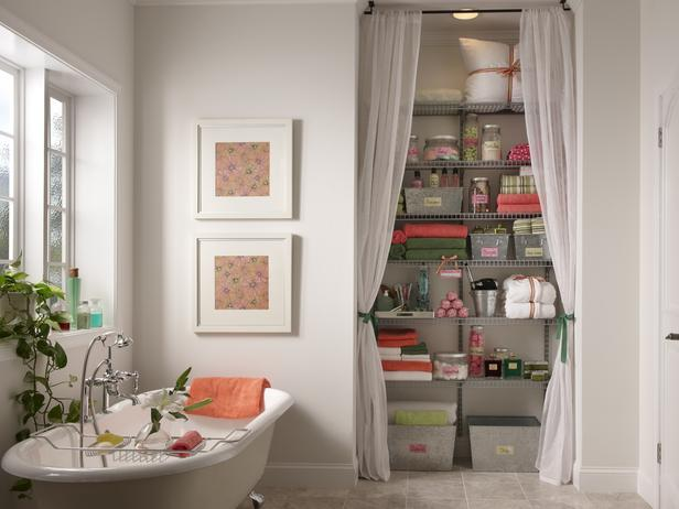 closet ideas without doors