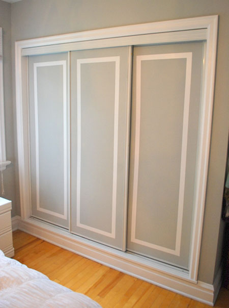 custom closet door ideas