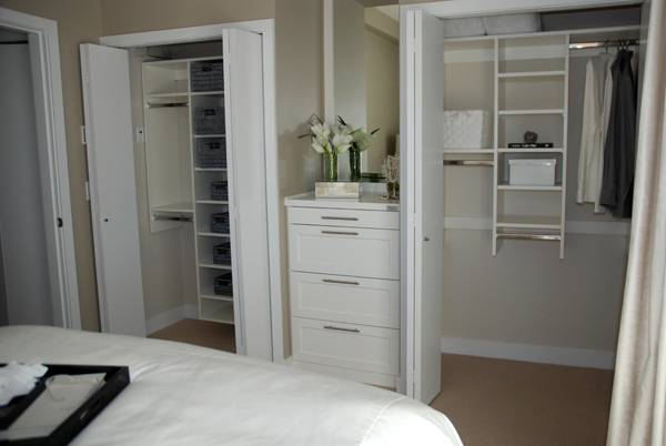 custom closet for small space