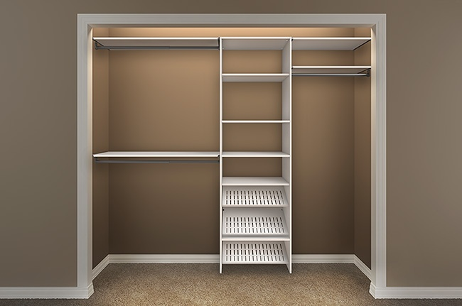 design a closet with closetmaid