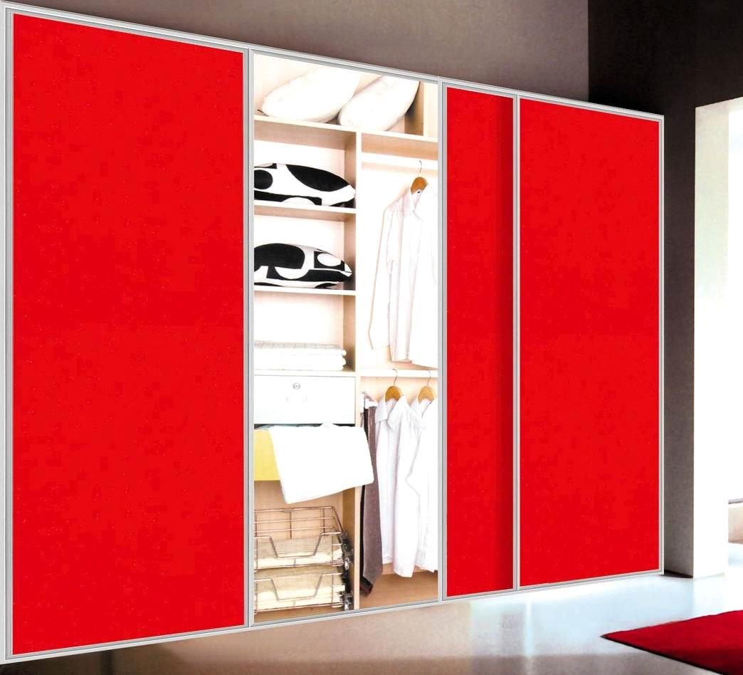 design a closet with sliding doors