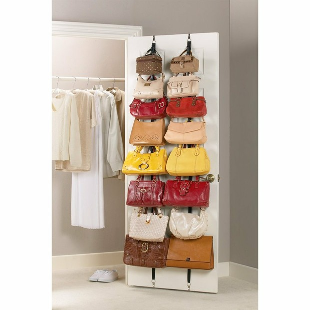 handbag organizer for closet