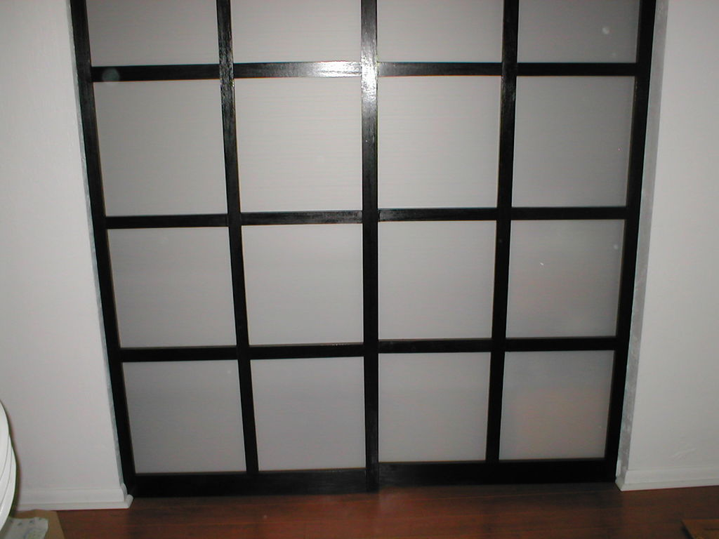 how to build small closet doors